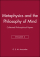 Metaphysics and the Philosophy of Mind: Collected Philosophical Papers, Volume 2 (0631133097) cover image