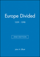 Europe Divided: 1559 - 1598, 2nd Edition (0631217797) cover image