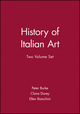 History of Italian Art, 2 Volume Set (0745618197) cover image