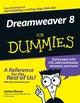 Dreamweaver 8 For Dummies (0764596497) cover image