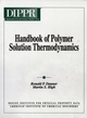 Handbook of Polymer Solution Thermodynamics (0816905797) cover image