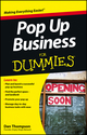 Pop-Up Business For Dummies (1118443497) cover image