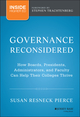 Governance Reconsidered: How Boards, Presidents, Administrators, and Faculty Can Help Their Colleges Thrive (1118738497) cover image