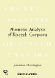 Phonetic Analysis of Speech Corpora (1405141697) cover image