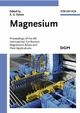 Magnesium: Proceedings of the 6th International Conference - Magnesium Alloys and Their Applications (3527606297) cover image