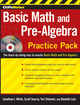 CliffsNotes Basic Math and Pre-Algebra Practice Pack  (0470533498) cover image
