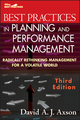 Best Practices in Planning and Performance Management: Radically Rethinking Management for a Volatile World, 3rd Edition (0470539798) cover image