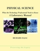 Physical Science: What the Technology Professional Needs to Know: A Laboratory Manual (0471360198) cover image