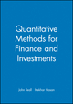 Quantitative Methods for Finance and Investments (0631223398) cover image