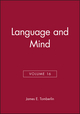 Language and Mind, Volume 16 (0631234098) cover image