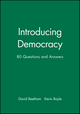 Introducing Democracy: 80 Questions and Answers (0745615198) cover image