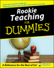 Rookie Teaching For Dummies (0764524798) cover image