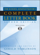 School Administrator's Complete Letter Book, 2nd Edition