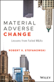 Material Adverse Change: Lessons from Failed M&As (1118066898) cover image