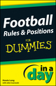Football Rules & Positions In A Day For Dummies (1118376498) cover image