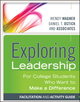 Exploring Leadership: For College Students Who Want to Make a Difference (1118602498) cover image