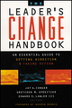 The Leader's Change Handbook: An Essential Guide to Setting Direction and Taking Action (1118642198) cover image