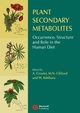 Plant Secondary Metabolites: Occurrence, Structure and Role in the Human Diet (1405125098) cover image