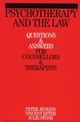 Psychotherapy and the Law: Questions and Answers for Counsellors and Therapists (1861564198) cover image