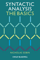 Syntactic Analysis: The Basics (EHEP002298) cover image