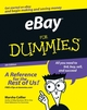 eBay® For Dummies®, 5th Edition (0470045299) cover image