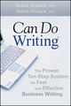 Can Do Writing: The Proven Ten-Step System for Fast and Effective Business Writing (0470449799) cover image