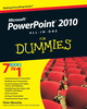 PowerPoint 2010 All-in-One For Dummies (0470500999) cover image