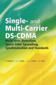 Single and Multi-Carrier DS-CDMA: Multi-User Detection, Space-Time Spreading, Synchronisation, Networking and Standards (0470863099) cover image