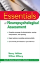 Essentials of Neuropsychological Assessment (0471215899) cover image