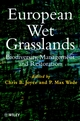 European Wet Grasslands: Biodiversity, Management and Restoration (0471976199) cover image