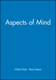 Aspects of Mind (0631184899) cover image