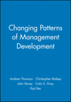 Changing Patterns of Management Development (0631209999) cover image