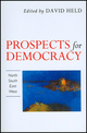 Prospects for Democracy: North, South, East, West (0745609899) cover image