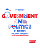 Government and Politics in Britain, 4th Edition (0745638899) cover image