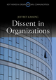 Dissent in Organizations (0745651399) cover image