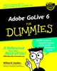 Adobe GoLive 6 For Dummies (0764516299) cover image