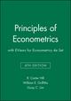 Principles of Econometrics 4e with EViews for Econometrics 4e Set (1118138899) cover image