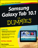 Samsung Galaxy Tab 10.1 For Dummies (1118280199) cover image