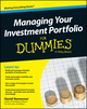 Managing Your Investment Portfolio For Dummies, UK Edition (1118457099) cover image