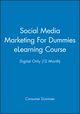 Social Media Marketing For Dummies eLearning Course - Digital Only (12 Month) (1118516699) cover image