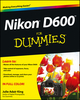 Nikon D600 For Dummies (1118530799) cover image