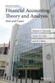 Financial Accounting Theory and Analysis: Text and Cases, 11th Edition (1118582799) cover image