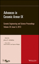Advances in Ceramic Armor IX, Volume 34, Issue 5 (1118807499) cover image