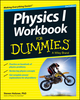 Physics I Workbook For Dummies, 2nd Edition (1118825799) cover image
