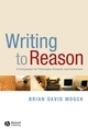 Writing To Reason: A Companion for Philosophy Students and Instructors (1405170999) cover image