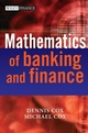 The Mathematics of Banking and Finance