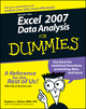 Excel 2007 Data Analysis For Dummies (047004599X) cover image
