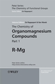 The Chemistry of Organomagnesium Compounds (047005719X) cover image