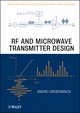 RF and Microwave Transmitter Design (047052099X) cover image