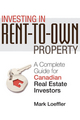 Investing in Rent-to-Own Property: A Complete Guide for Canadian Real Estate Investors (047073759X) cover image